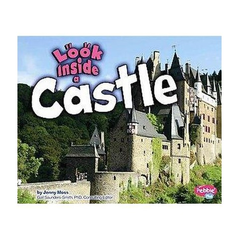 Look Inside a Castle (Hardcover)