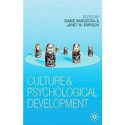 Culture and Psychological Development (Paperback)