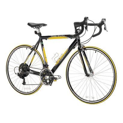 "Kent Mens Denali Pro 28"" Road Bike - Black/Yellow"
