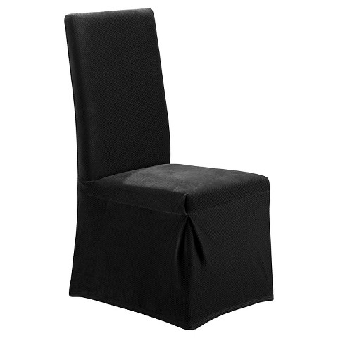 sure fit stretch pique dining room chair sl target