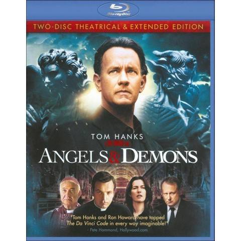 Angels & Demons (2 Discs) (Blu-ray) (Theatrical & Extended Editions) (With Digital Copy)