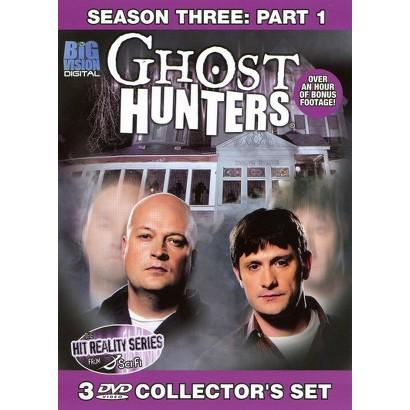 Ghost Hunters: Season Three, Part 1 (3 Discs)