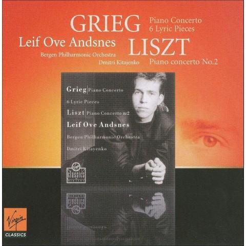 Grieg: Piano Concerto; 6 Lyric Pieces; Liszt: Piano Concerto No. 2