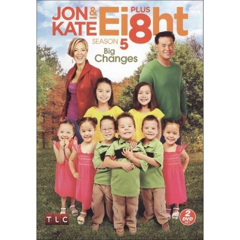 Jon and Kate Plus Ei8ht: Season 5 - Big Changes (2 Discs) (Widescreen)