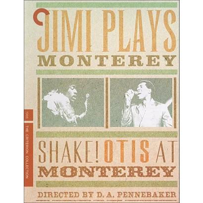 Jimi Plays Monterey/Shake! Otis at Monterey (Criterion Collection) (Blu-ray) (R)