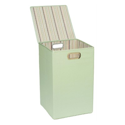 ECOM JJ Cole Hamper - Green Stripe