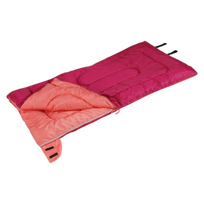 Kids Embark 50 Degree Sleeping Bag - Red