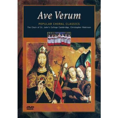 Ave Verum: Popular Choral Classics (Widescreen)