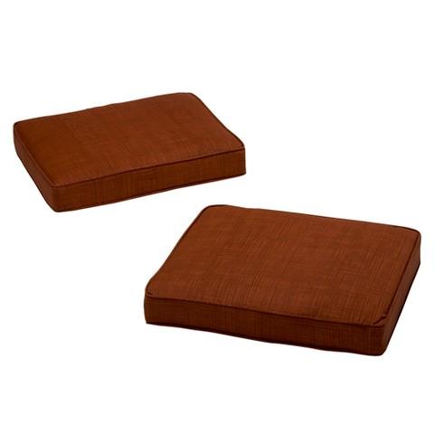 Madaga 2 Piece Outdoor Ottoman Replacement Cushi Target