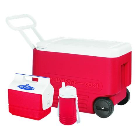 Igloo Wheelie Cool 38 Quart Roller Combo Cooler