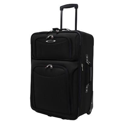 Traveler's Choice El Dorado Ballistic Nylon Carry-On Upright, Black