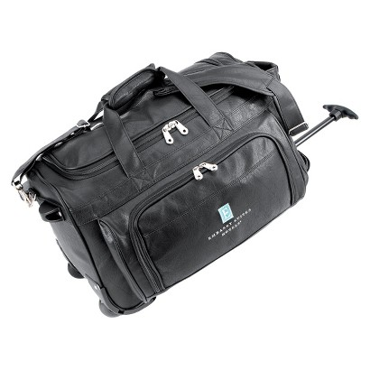 G. Pacific FAA Carry-On Approved  Koskin Wheeled Duffel Bag - Black