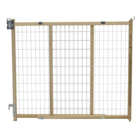 GMI 24-Inch GuardMaster II Standard Walk Thru Wire Mesh Baby and Pet Gate