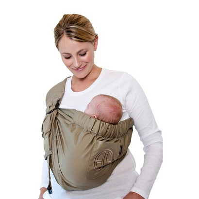 Balboa Baby Four Position Adjustable Sling Carrier by Dr. Sears - Signature Khaki