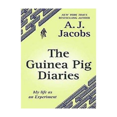 The Guinea Pig Diaries (Large Print) (Hardcover)