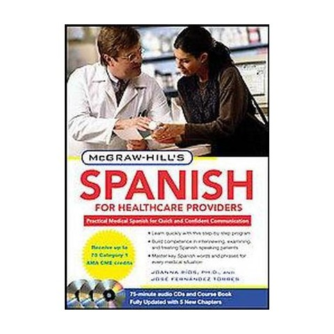 McGraw-Hill's Spanish for Healthcare Providers (Bilingual, Updated) (Mixed media product)