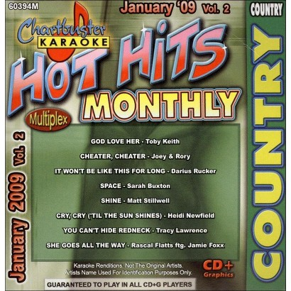Karaoke: January Country Hits, Vol. 2