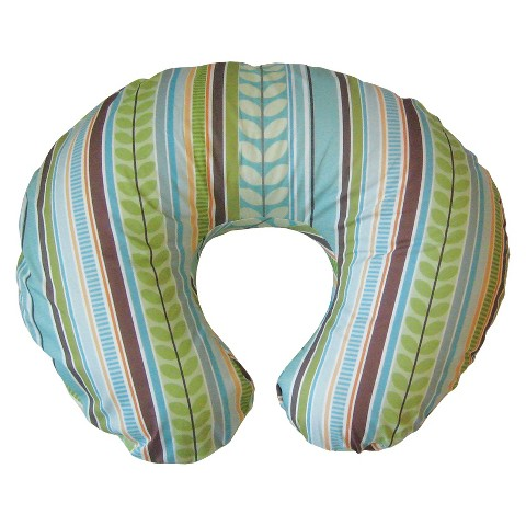 Boppy Bare Naked Pillow with Slipcover - Park Hill