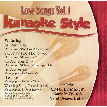 Karaoke Style: Love Songs, Vol. 1