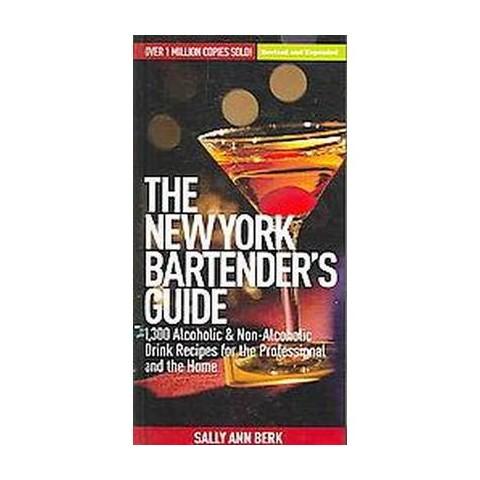 The New York Bartender's Guide (Hardcover)