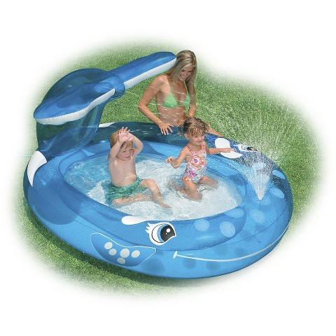 Intex Whale Spray Kids Pool
