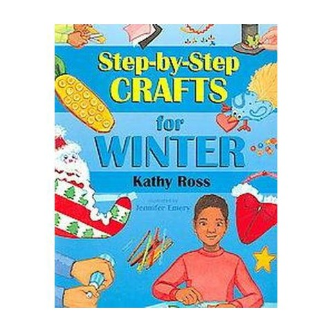Step-by-step Crafts for Winter (Paperback)