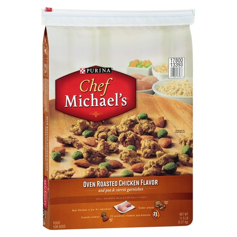 Chef Michael's with Rotisserie Chicken Dry Dog - 11 lb