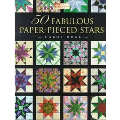 50 Fabulous Paper-Pieced Stars (Mixed media product)