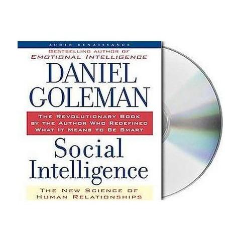 Social Intelligence (Unabridged) (Compact Disc)