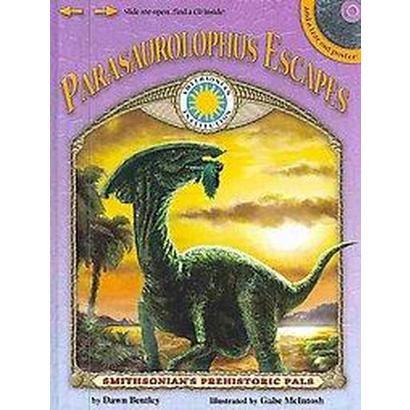Parasaurolophus Escapes (Mixed media product)