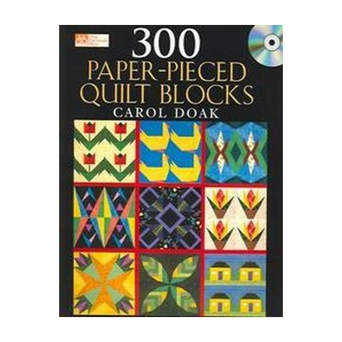 300 Paper-pieced Quilt Blocks (Mixed media product)