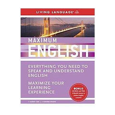 Living Language Maximum English (Unabridged) (Mixed media product)