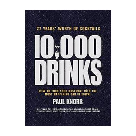10,000 Drinks (Hardcover)