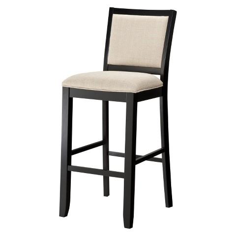 Kendall Upholstered Stool - Black