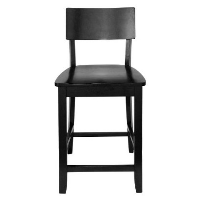 Jordan All Wood Stool - Black