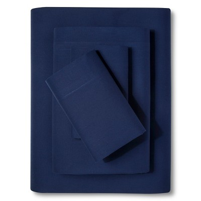 Easy Care Sheet Set Admiral Blue (Twin) - Room Essentials™