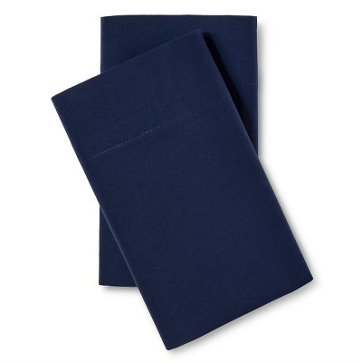 Easy Care Pillowcase Set Admiral Blue(Standard) - Room Essentials™
