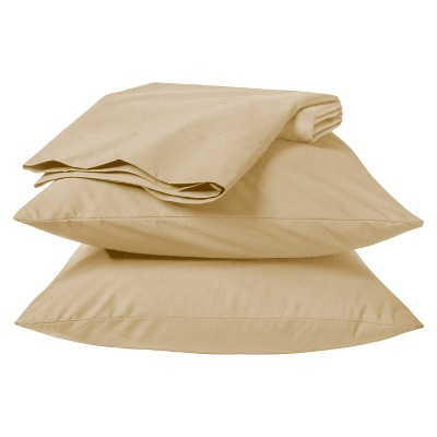 Room Essentials™ Easy Care Sheet Set - Chatham Tan (California King)