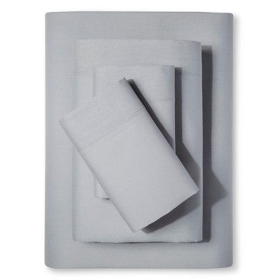 Easy Care Sheet Set Gray Mist (Full) - Room Essentials™