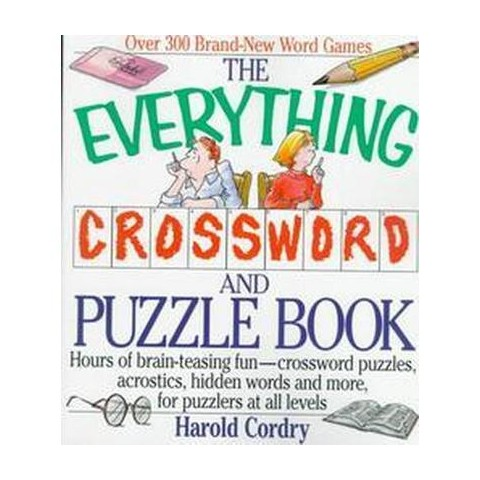The Everything Crossword and Puzzle Book (Paperback)