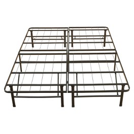 Platform Bed Frame and Bed Cover Collection