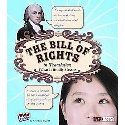 The Bill of Rights in Translation (Hardcover)