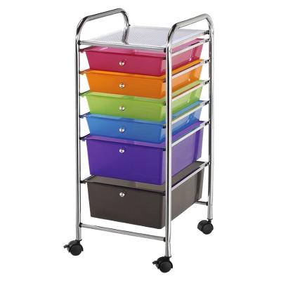 Storage Cart - 6 Drawer