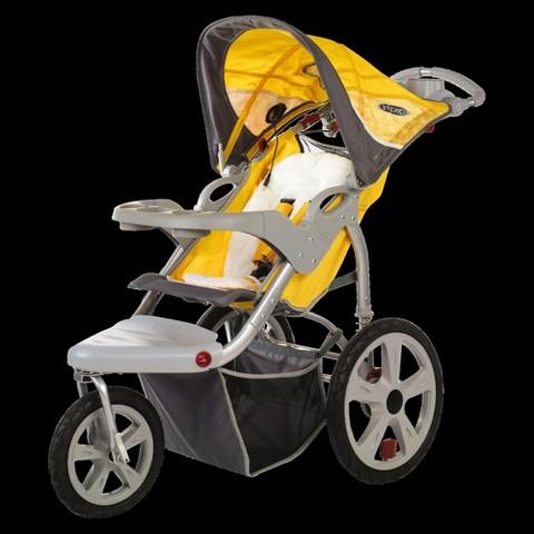 In Step Grand Safari Swivel Wheel Jogger - Yellow