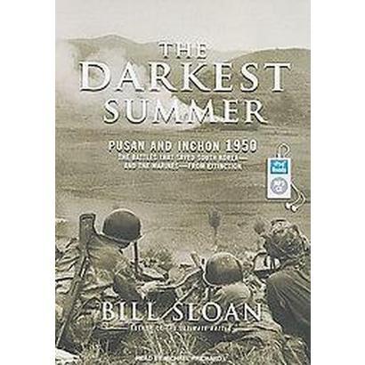 The Darkest Summer (Unabridged) (Compact Disc)