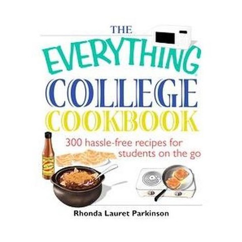 The Everything College Cookbook (Paperback)