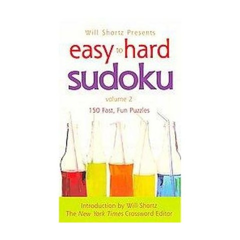 Easy to Hard Sudoku (2) (Paperback)