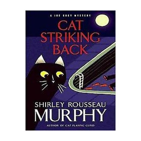 Cat Striking Back (Large Print) (Paperback)