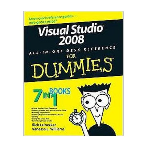 Visual Studio 2008 All-In-One Desk Reference For Dummies (Mixed media product)
