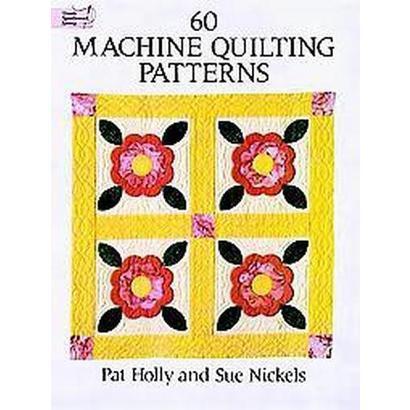60 Machine Quilting Patterns (Paperback)